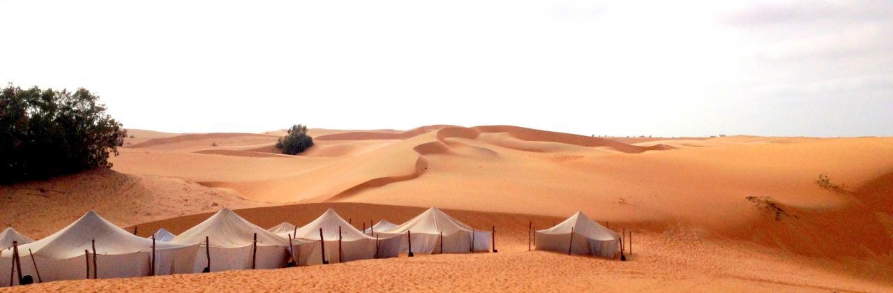 Nuit dans le désert de Lompoul